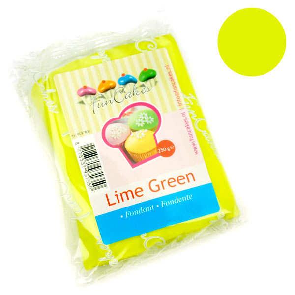 Pâte à sucre vert anis FunCakes