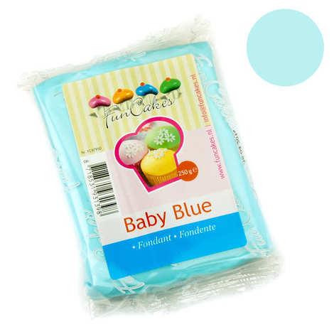 Fun Cakes - Pâte à sucre bleu pastel FunCakes