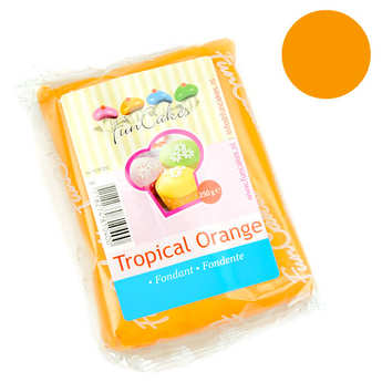 Fun Cakes - FunCakes ready-roll tropical orange icing