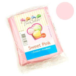 Fun Cakes - Pâte à sucre rose pastel FunCakes