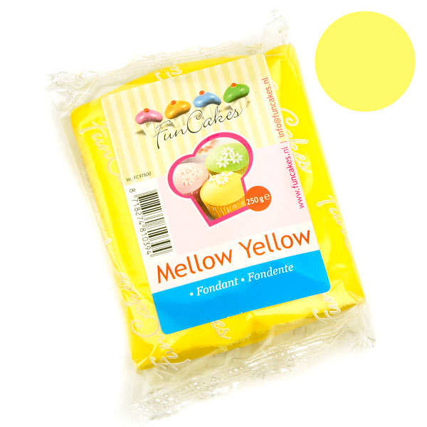 FunCakes ready-roll mellow yellow icing