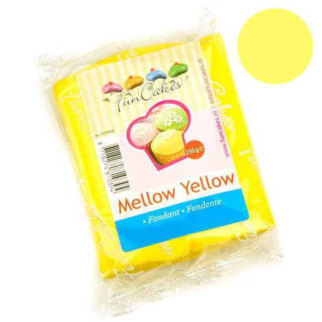 Fun Cakes - Pâte à sucre jaune FunCakes