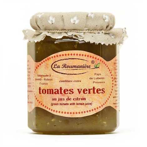La Roumanière - Confiture de tomate verte - Provence