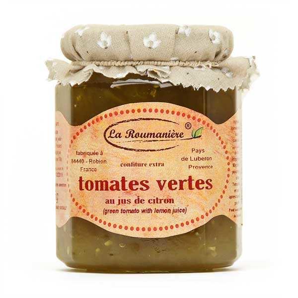 Confiture de tomate verte - Provence