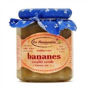 La Roumanière - Confiture de bananes