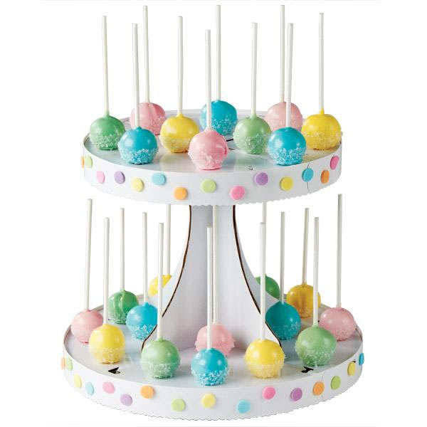 Customisable cake pop display stand
