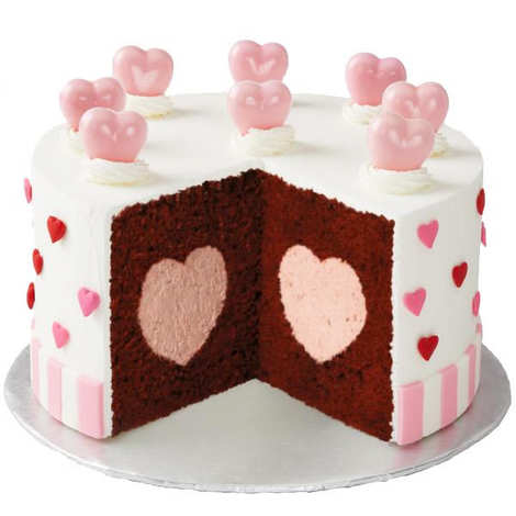 Wilton - Moule gâteau avec centre en coeur