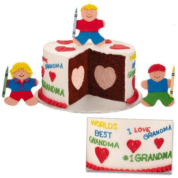 Moule gâteau avec centre en coeur