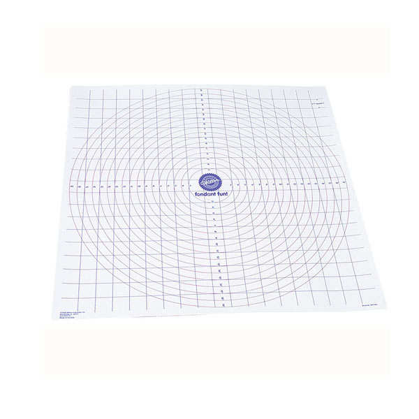 Graduated ready-roll icing mat
