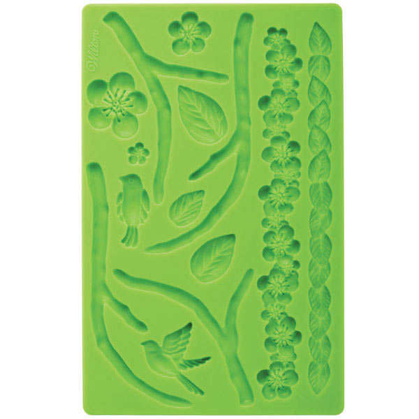 Flower icing mould
