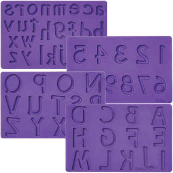 Wilton - Letters & Numbers Icing Mould