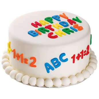 Wilton - Moule pour pâte à sucre - Alphabet et numéro