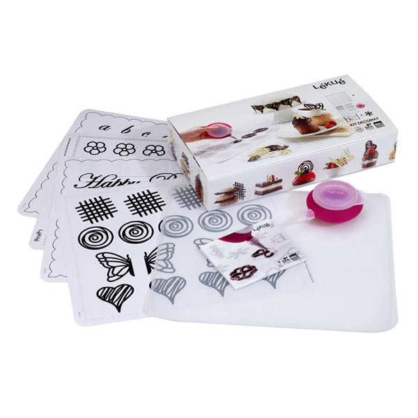 Kit Decomat (decopen et planche à dessin en silicone)