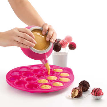 Kit cake pops en silicone (moule + Decomax)