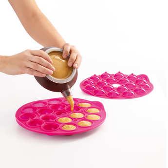 Lékué - Kit cake pops en silicone (moule + Decomax)