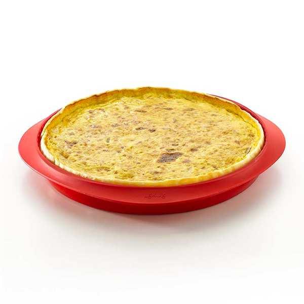 Moule à tarte démontable en silicone et céramique Ø 28cm