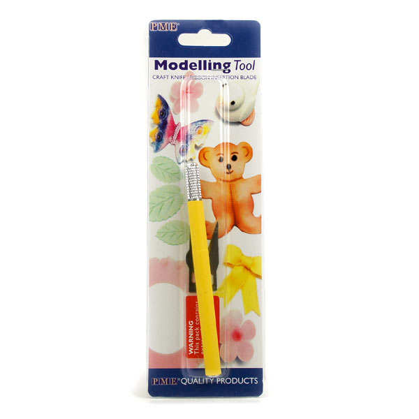 Double-ended craft knife for icing