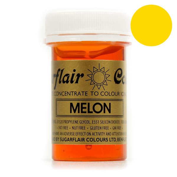 Colorant alimentaire en pâte - Melon jaune