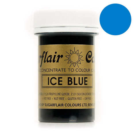 Sugarflair - Ice blue food colouring