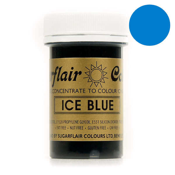 Ice blue food colouring