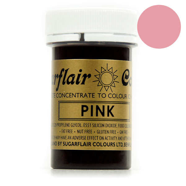 sugarflair colorant alimentaire en pte rose - Colorant Alimentaire Vert Pistache