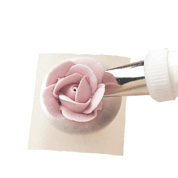 Set of nozzles for icing decoration for Wilton tubes