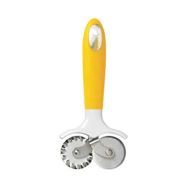 Double wheel tool for icing and pastry