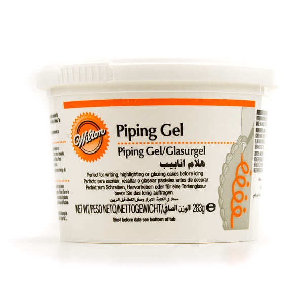 Colle alimentaire transparente (piping gel Wilton)