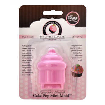 My Little Cupcake - Mini cupcake mould for cake pops