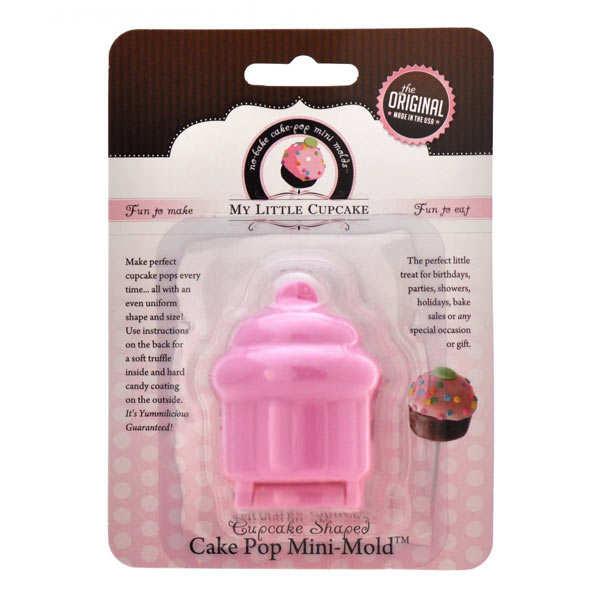 Mini moule pour cake pop - Forme cupcake