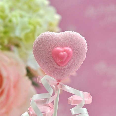 My Little Cupcake - Mini moule pour cake pop - Forme coeur