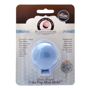 My Little Cupcake - Mini moule pour cake pop - Forme boule
