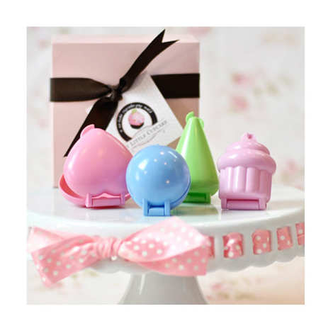 My Little Cupcake - Set of 4 mini moulds for cake pops