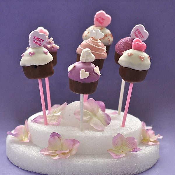 Set of 4 mini moulds for cake pops