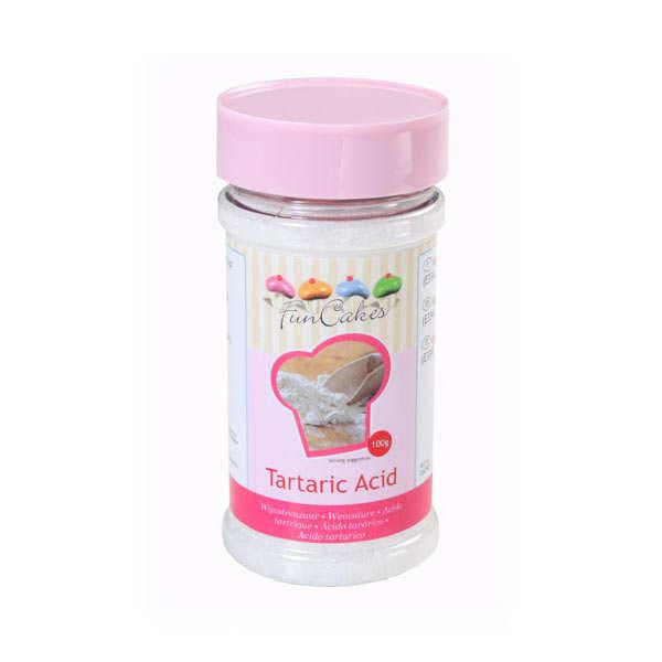Acide tartrique (Crème de tartre)