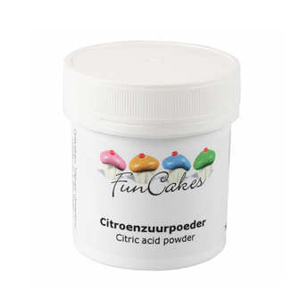 Fun Cakes - Citric acid powder - 70g