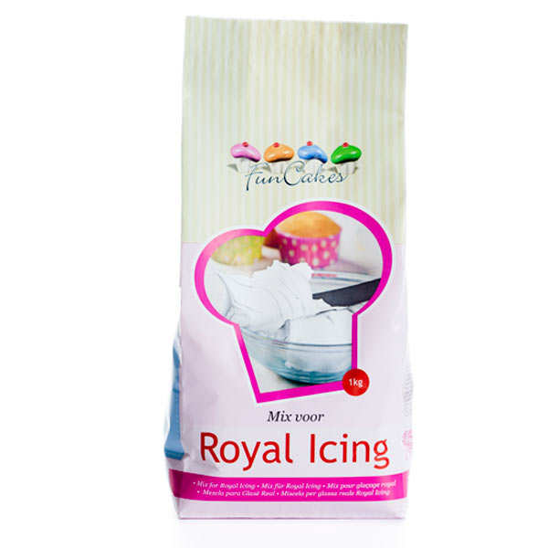 Préparation pour glaçage royal