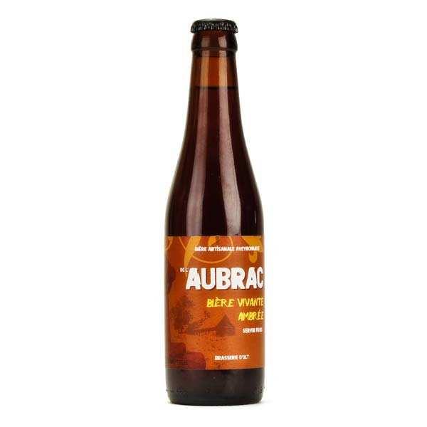 Bière ambrée de l'Aubrac de la Brasserie d' Olt - 5%
