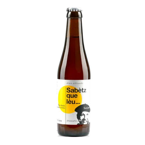 Sabetz Que Leau Beer Brasserie d' Olt - 7%