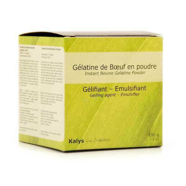 Gélatine en poudre soluble à froid