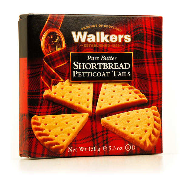 Pure Butter Walkers Petticoat Tail Shortbreads