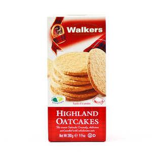 Walkers - Highland oatcakes Walkers (galettes d'avoine écossaises)