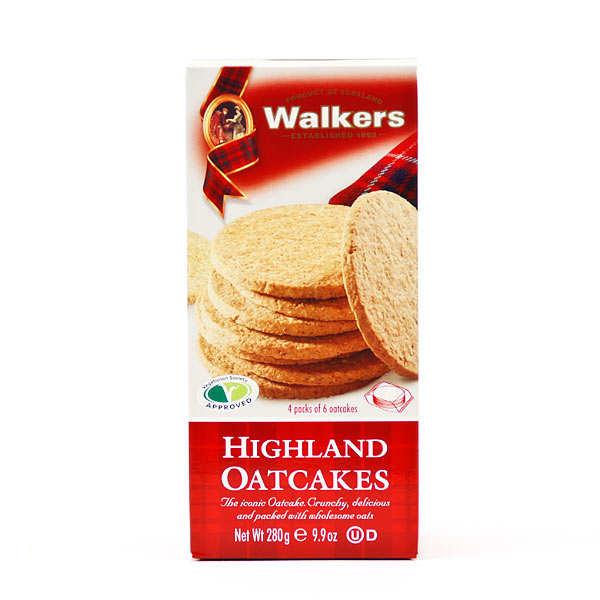 Highland oatcakes Walkers (galettes d'avoine écossaises)