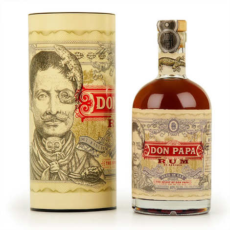 Bleeding heart rum company - Don Papa Rum - Small Batch from the Philippines - 40%