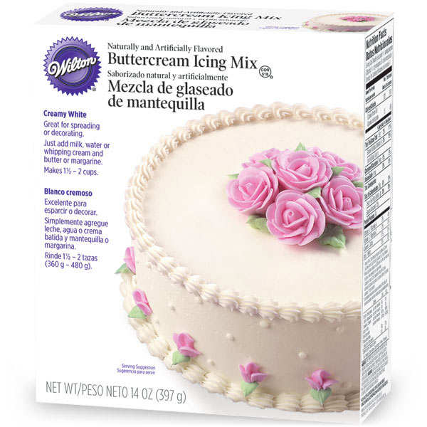 Buttercream Icing Mix White