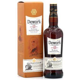 Dewar's - Whisky Dewar's 12 ans - coffret dégustation 40%