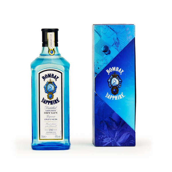 Bombay Sapphire - London dry gin 40%