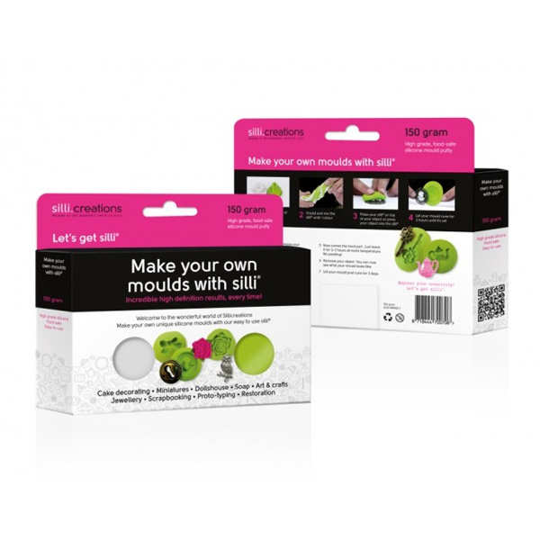 'Make your own moulds with Silli' - Sillicreations Kit