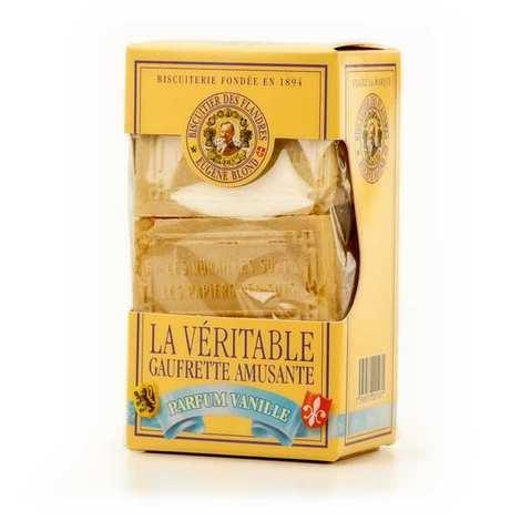 Biscuiterie Eugène Blond - La véritable gaufrette amusante à la vanille