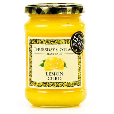 Véritable lemon curd anglais